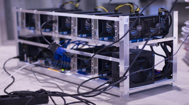 cooling mining rig